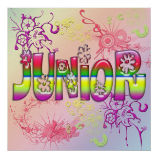 Junior - Flowers Poster