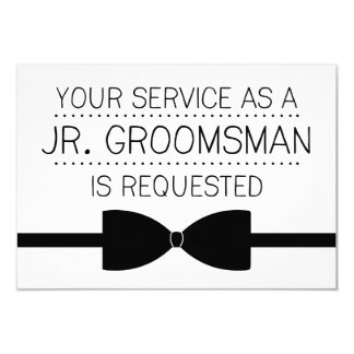 Junior Groomsman Request | Groomsmen Card