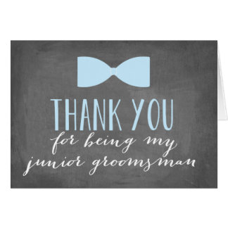 Junior Groomsman Thank You | Groomsman Card