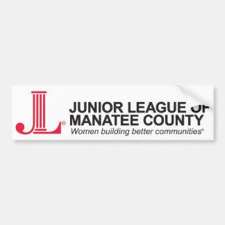 Junior League of Manatee County Bumper Sticker