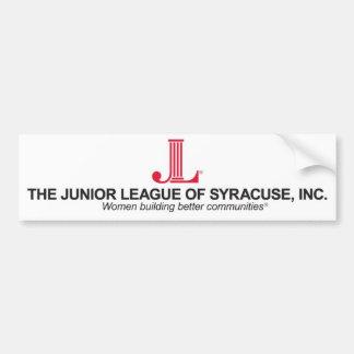 Junior League of Syracuse Bumper Sticker