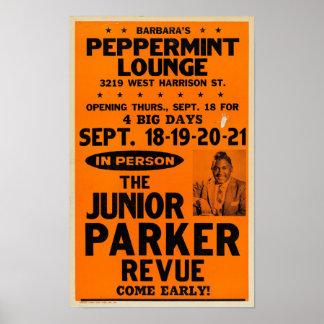 Junior Parker Peppermint Lounge Concert Poster