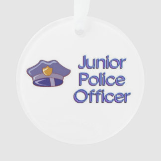 Junior Police Officer Ornament