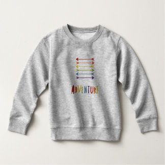 Junior Pride | Adventure | Rainbow Colours Sweatshirt
