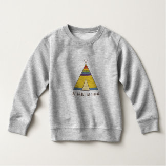 Junior Pride | Teepee | Rainbow colours Sweatshirt