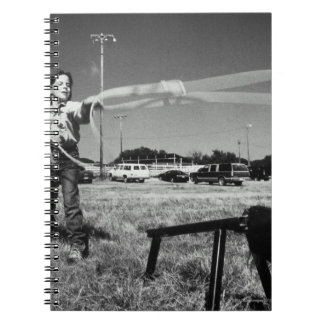 Junior Rodeo, girl(7-9)practising how to use Notebook
