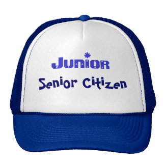 Junior Senior Citizen Cap