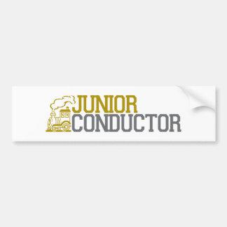 Junior Train Conductor Bumper Stickers