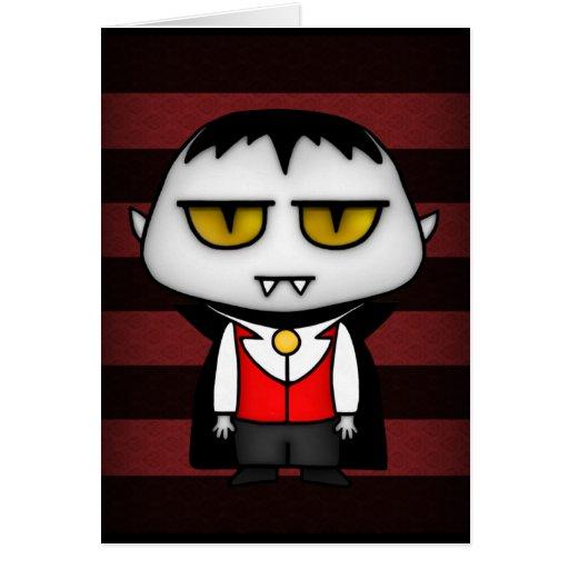 Junior Vampire Greeting Cards