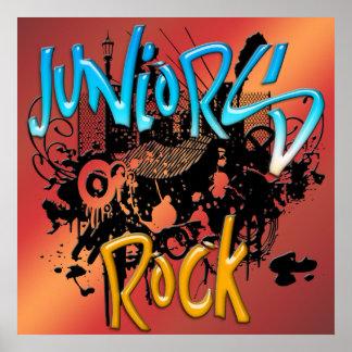 Juniors Rock Poster