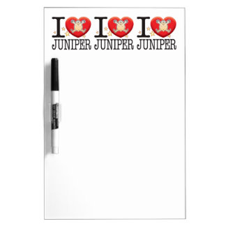 Juniper Love Man Dry Erase Board