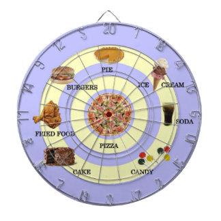 Junk Food Dart Board
