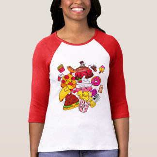 Junk Food Party T-Shirt
