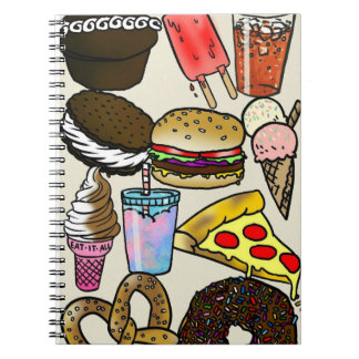 Junk Food Photo Notebook
