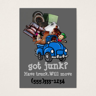 Junk Hauling Removal business template
