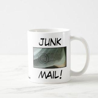 JUNK MAIL! - Anthony Weiner Basic White Mug
