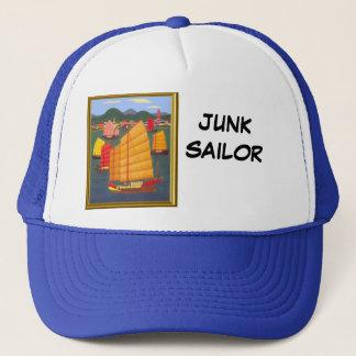 Junk sailor trucker hat