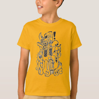 Junk / Spare-parts Clunky Robot Character Shirts