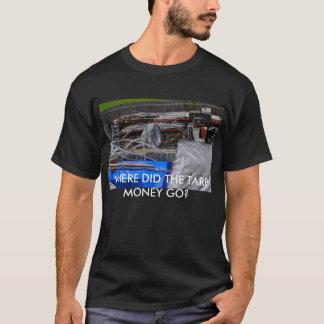 JUNK, WHERE DID THE TARP MONEY GO? T-Shirt
