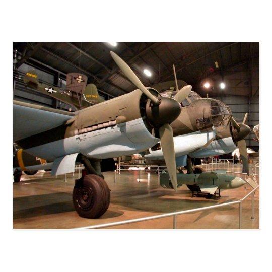 Junkers in museum postcard