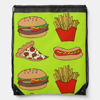 Junkfood drawstring backpack