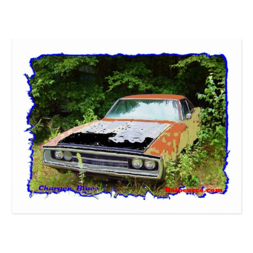 JunkYard Charger Blues Post Cards