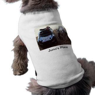 Juno and Baxter Sleeveless Dog Shirt