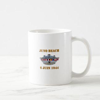 Juno Beach 1944 Normandy Basic White Mug