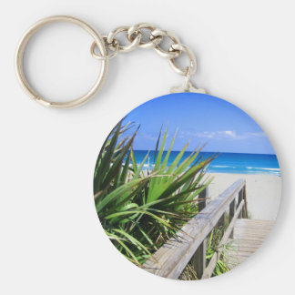 Juno Beach Florida Basic Round Button Key Ring