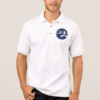 Juno space probe mission patch polo shirt