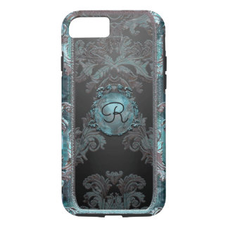 Junobea Peg Victorian Damask Monogram iPhone 8/7 Case