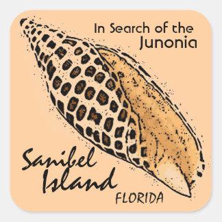 Junonia shell Sanibel Island Florida stickers