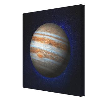 Jupiter 3 stretched canvas print