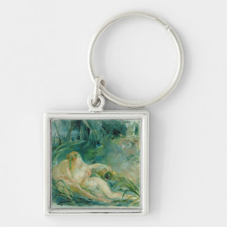 Jupiter and Callisto, after a painting by Boucher Key Ring