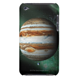 Jupiter and Earth Comparison Barely There iPod Case