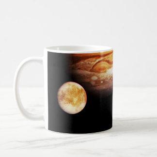 Jupiter and Her Moons Coffee Mug