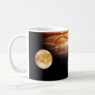 Jupiter and Her Moons Coffee Mugs