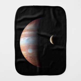 Jupiter and Io Burp Cloth