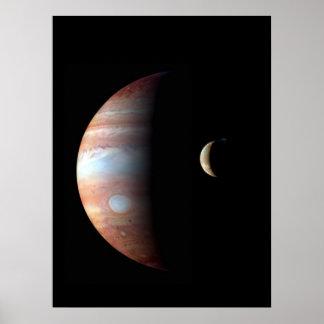Jupiter and Io Print