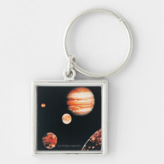 Jupiter and The Galilean Satellites Key Ring