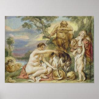 Jupiter as a Child Poster