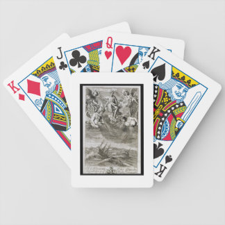 Jupiter Casts a Storm Upon the Ocean, illustration Bicycle Playing Cards