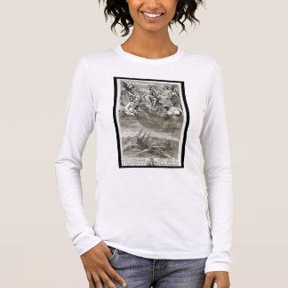 Jupiter Casts a Storm Upon the Ocean, illustration Long Sleeve T-Shirt