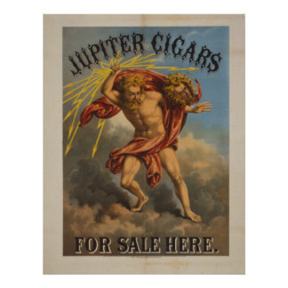 Jupiter Cigars For Sale Here Poster