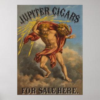 Jupiter Cigars Poster