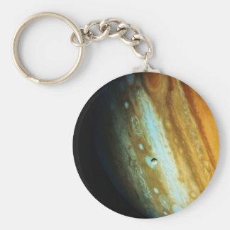 Jupiter Close-Up Basic Round Button Key Ring