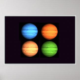 Jupiter Collage Print