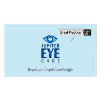 Jupiter Eye Care Pack Of Standard Business Cards