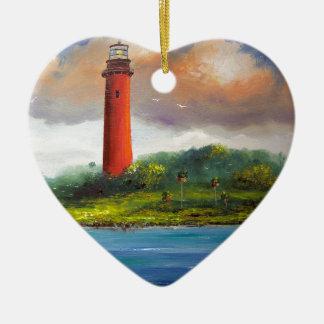 Jupiter Florida Lighthouse Christmas Ornament