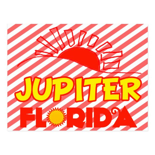 Jupiter, Florida Postcard